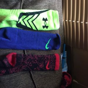 Socks ten for all or 3 a pair
